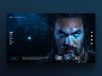 Web design | Aquaman