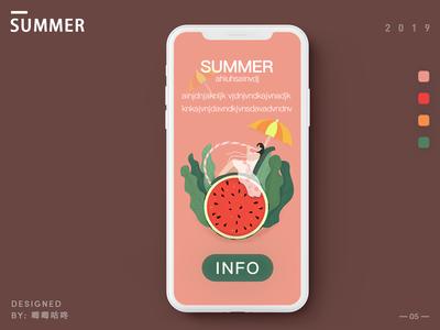 A  cool  summer holiday- 07/13/2019 at 08:47 AM