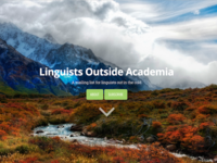 Linguists Outside Academia