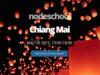 NodeSchool - Chiang Mai