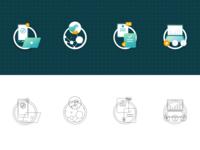Liudutui_Web_icons