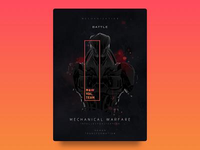 Game poster illustration design