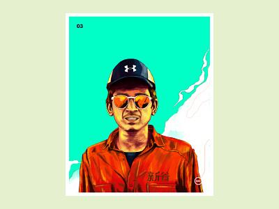 The Wild West Way / Portrait Illustration digital design graphic design portrait illustration illustrator