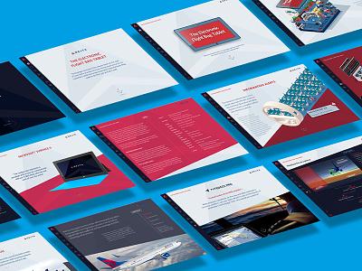 Delta Airlines Electronic Flight Bag navigation tablet ipad airline layout delta illustration design app interactive ui infographic