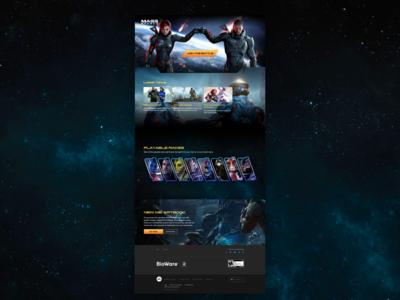 Mass Effect Concept Web