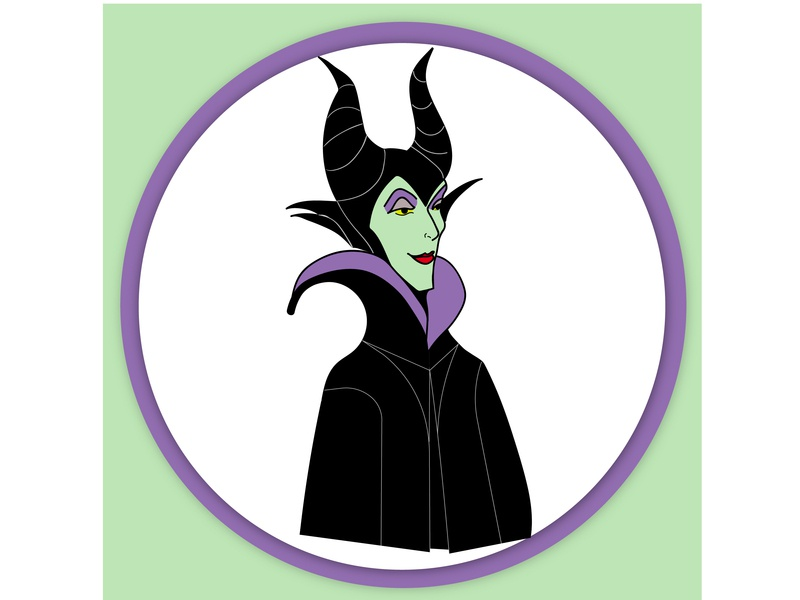 Maleficent Avatar Vector