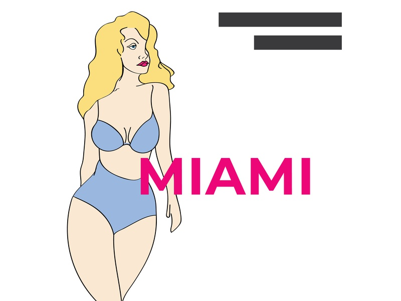 Miami Illustration