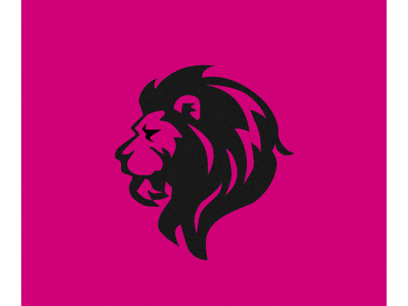 Lion Logo icon logo illustration dailyui app ios userexperience typography interface graphic concept color clean minimal flat branding vector ux ui design