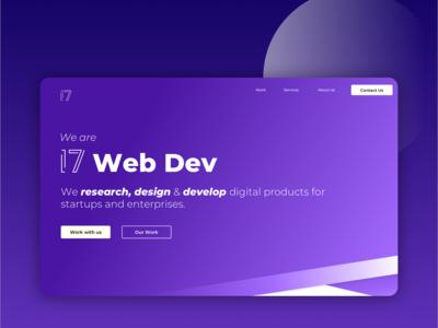 Rebranding 17 Web Dev