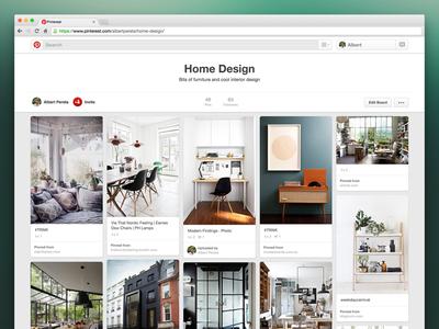 New Board Header — Pinterest pinterest board header