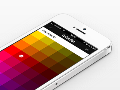 Category wiselist logo icon iphone colors