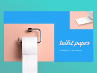 Toilet paper fun landing page design trends future