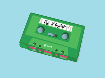 Cassette magic illustrator design spotify cassette stuff doodles illustration illustrations