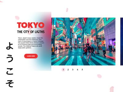 Page slider for Travel Website graphic design web design future travel branding slider uiux adobexd