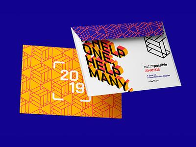 Not Impossible Awards 2019 vector award awards logo typography lettering design brand brand design brand identity branding