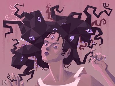 Bad Hair Day tangled monster hair