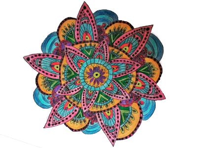 Mandala pattern art mandala