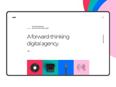 Novl - Creative Agency Home Concept
