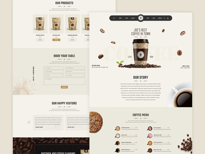 JoeCoffee - Coffee Shop Template