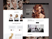 Ayesha - Hair Salon Template Home 01