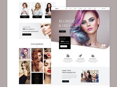 Ayesha - Hair Salon Template Home 03