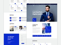 Netcel - Business Consulting and Finance Theme Homepage v2