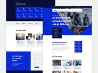 Netcel - Business Consulting and Finance Theme Homepage v4