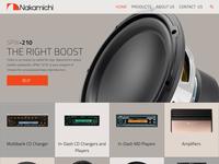 Nakamichi's Australia Website WIP