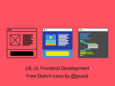 Free UX, UI & Front end dev icons!