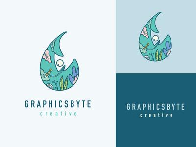 Graphicsbyte Creative Logo