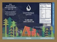 Centered Water - Original CBD Flavor