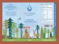 Centered Water CBD - Pear