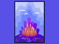 Fantasy vector Illustration