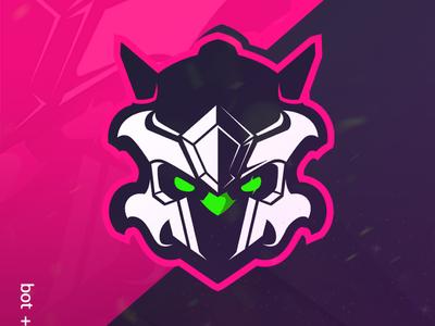 Bot artwork vector bot logo mascotlogo premadelogo