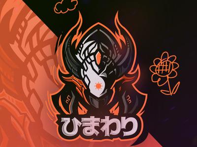 Hmwr mecha esport artwork illustration design vector logo
