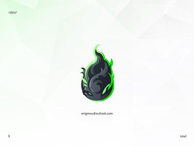 Sole(Soul) gaminglogo branding esportlogo mascotlogo artwork esport design illustration vector logo