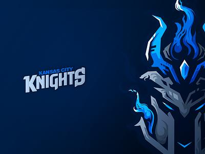Kansas City Knights premadelogo logo kansascityknights