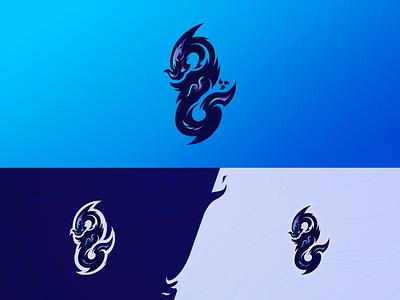 Infnt/Srpnt esport design branding logo
