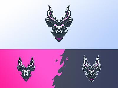 Wander Promises logodesign vector branding design logo deer