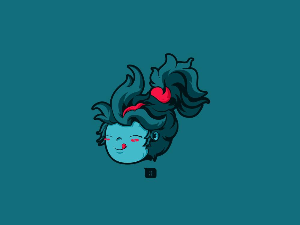HappyPhantom happy cute illustration vector daily casual phantomassasin dota2 tshirtdesign teesdesign