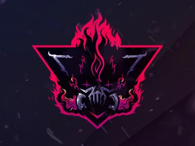 Etos Rising mascotlogo esport gaminglogo logos design