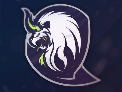 Manticore lion beast premadelogo logo design logo