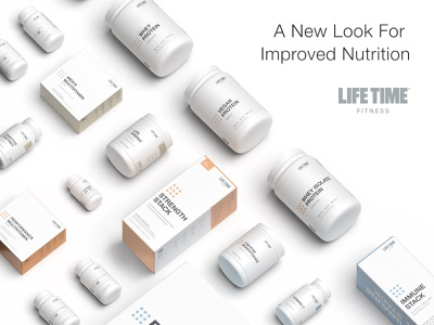 Life Time Supplement Line Redesign protein vitamins supplements label design package design 3d 3d render design minimalism branding graphic design