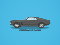 Mustang Illustration