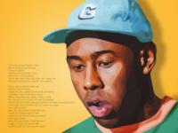 Tyler, the Creator Illustration