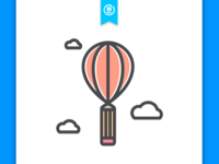 Hot Air Balloon Logo