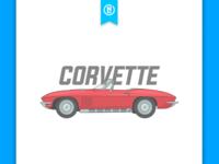 Corvette Illustration