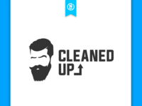 Cleaned Up logo