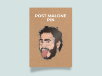Post Malone pin