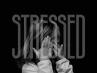 Stressed wordmark